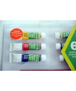 Reeves Acrylic Starter Set of 6 Acrylic colour tubes - $14.00