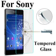Screen Protector HD Toughened for Sony Xperia Z1 Z2 Z3 Z5 Compact M2 M4 M5 C3 C4 - $10.66+