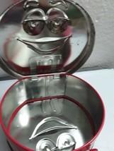 Mars M&M Skittles Galleria VALENTINE Tin LUNCH BOX~PURSE~SUITCASE Skittl... - $13.51