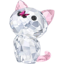 Authentic Swarovski Millie Kitten Crystal Figurine - $73.87