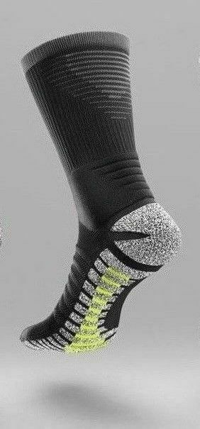 New NIKE Grip STRIKE LightWeight Football Crew Socks  USsz:12-13.5  SX5089-010