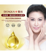 Silk Protein Hyaluronic Acid Liquid Skin Care Moisturizing Anti Wrinkle ... - $6.88