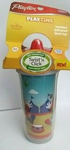 NEW Playtex PLAY TIME Insulated Spout Sippy Cup 9 Oz BPA FREE - $11.86