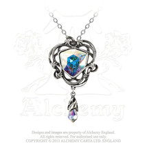 Empyrian Eye: Tears From Heaven Pendant by Alchemy Gothic - $64.30