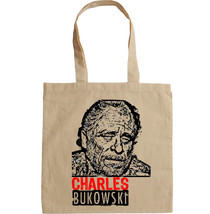 CHARLES BUKOWSKI - NEW AMAZING GRAPHIC HAND BAG/TOTE BAG - $16.88