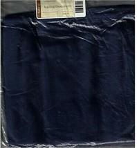 Longaberger Medium Oval Waste Over the Edge Liner ~ indigo Fabric - $19.55