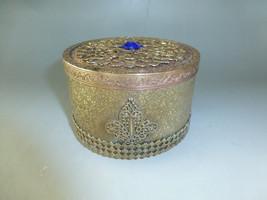 Rare Swiss Antique Thorens (Reuge) Music Box Brass Powder Case (Watch The Video) - $391.05