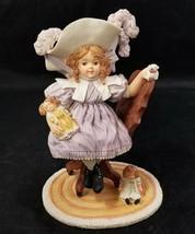 Maud Humphrey Bogart Figurine Sitting Pretty MH931 Hamilton Gifts 1993 G... - $19.34