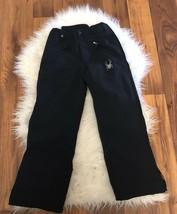 Spyder Snow Pants Youth Size 10 Black Girls Boys Ski Snowboard Kids Wate... - $35.37