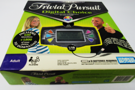 Trivia Pursuit Digital Choice Create Your Own Trivia Experience - $19.99
