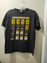 Another Banner Year Black Unisex Cotton T Shirt Size Large - $21.51