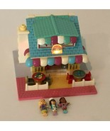 Bluebird Polly Pocket Pizzeria Pizza Shop Vintage 1993 Lights 3 Original... - $56.99
