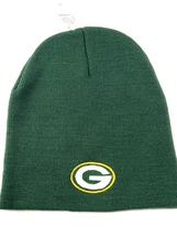 Green Bay Packers NFL Cuffless Team Color Knit Hat by NFL Team Apparel - $12.99