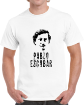 Pablo Escobar Colombian Gangster El Patron Cocaine Distressed T Shirt - $19.99