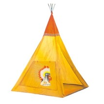 Indian Teepee Tripod Play Tent Kids Hut Children House by Unknown - $16.77