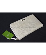 NWT! Kate Spade Knightbridge Zip Travel Wallet in Bone. Cream Color - $189.00