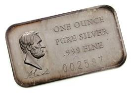 Abraham Lincoln Von Madison Ungebraucht 1 Oz. Silber US President Kunst ... - $48.50
