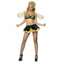 LEG AVENUE 4 PC QUEEN BEE ADULT COSTUME VARIOUS SIZES BRAND NEW - $19.99