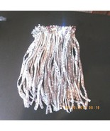 Silver Lame Glitter Sequin Dancewear skirt Small hulu - $3.14