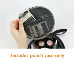 Brunch Brother Makeup Cosmetic Bag Beauty Pouch Case Organizer (Pompom) image 6