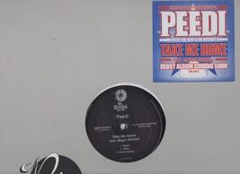 Peedi Take Me Home Feat. Megan Rochell 2007 Promo Vinyl LP Peedi Crakk - $7.80