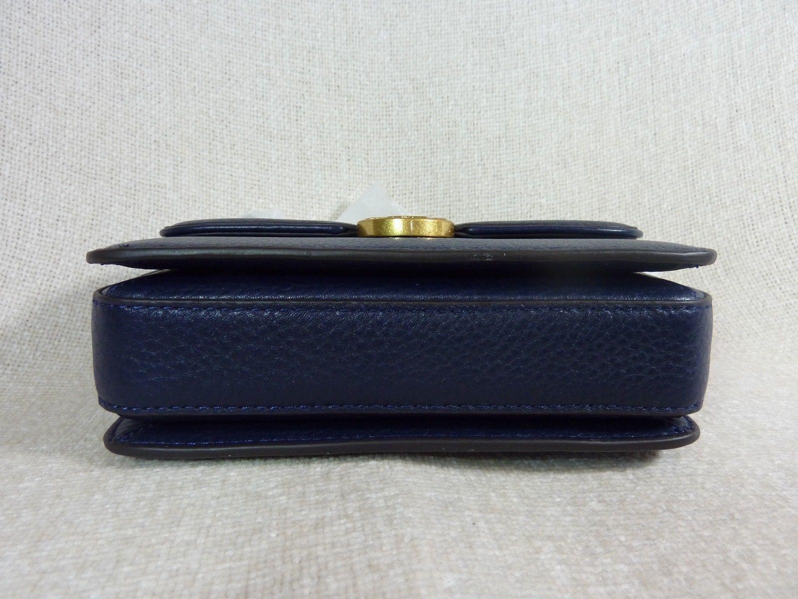 Neuf avec Étiquettes Tory Burch Marine Royale Chelsea Mini Sac Bandoulière image 6