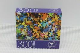 """Puzzle Pieces"" 300 Piece Puzzle 14X11 Cardinal New & Sealed - $9.79"