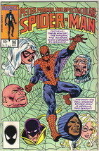 The Spectacular Spider-Man Comic Book #96, Marvel 1984 NEAR MINT - $5.94