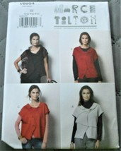 Pattern Vogue Designer Vest March Tilton V8954 Uncut Factory Folded - $9.79