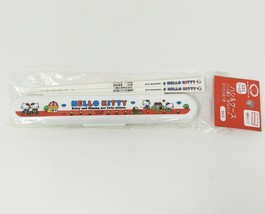 NEW IN PACKAGE VINTAGE 1999 SANRIO SMILES HELLO KITTY & MIMMY CHOPSTICKS... - $45.82