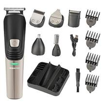 Beard Trimmer 6 in 1 Hair Clipper Electric Trimmer Shaver and Nose Trimmer Elect image 9