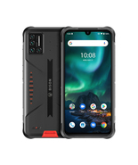 umidigi bison rugged 6gb 128gb waterproof dualsim 6.3 fingerprint android orange - $249.99