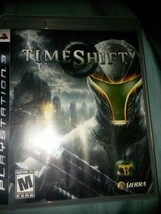 TimeShift (PlayStation 3, 2007) Sony PS3 - Complete With Manual Tested - $7.00