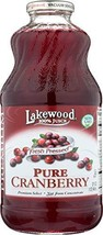 Lakewood, Pure Cranberry Juice, 32 oz