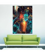 Wall Poster Art Giant Picture Print Dragon Symmetra Overwatch 2374PB - $22.99