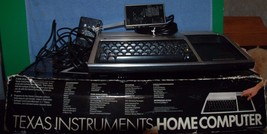 VINTAGE Texas Instruments TI-99/4A 1982 home computer complete with box,... - $49.99