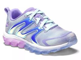 Girls' S Sport by Skechers Jalisa Metallic Purple Air Cushioned Fashion Sneakers