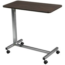 Drive Medical Non Tilt Top Overbed Table Chrome - $66.79