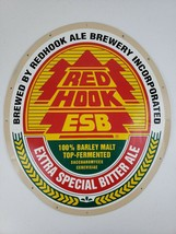 """Red Hook ESB Extra Special Bitter Ale Metal Label Beer Brewery Sign 20"""" ... - $84.99"""