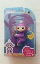 AUTHENTIC Purple MIA ~ FINGERLINGS Interactive Pet Baby Monkey ~ WowWee ... - $31.65