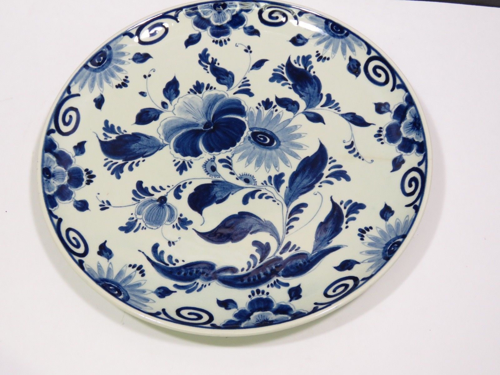 "Primary image for Delfts Blauw Cynia Plate 8.75"" Holland"
