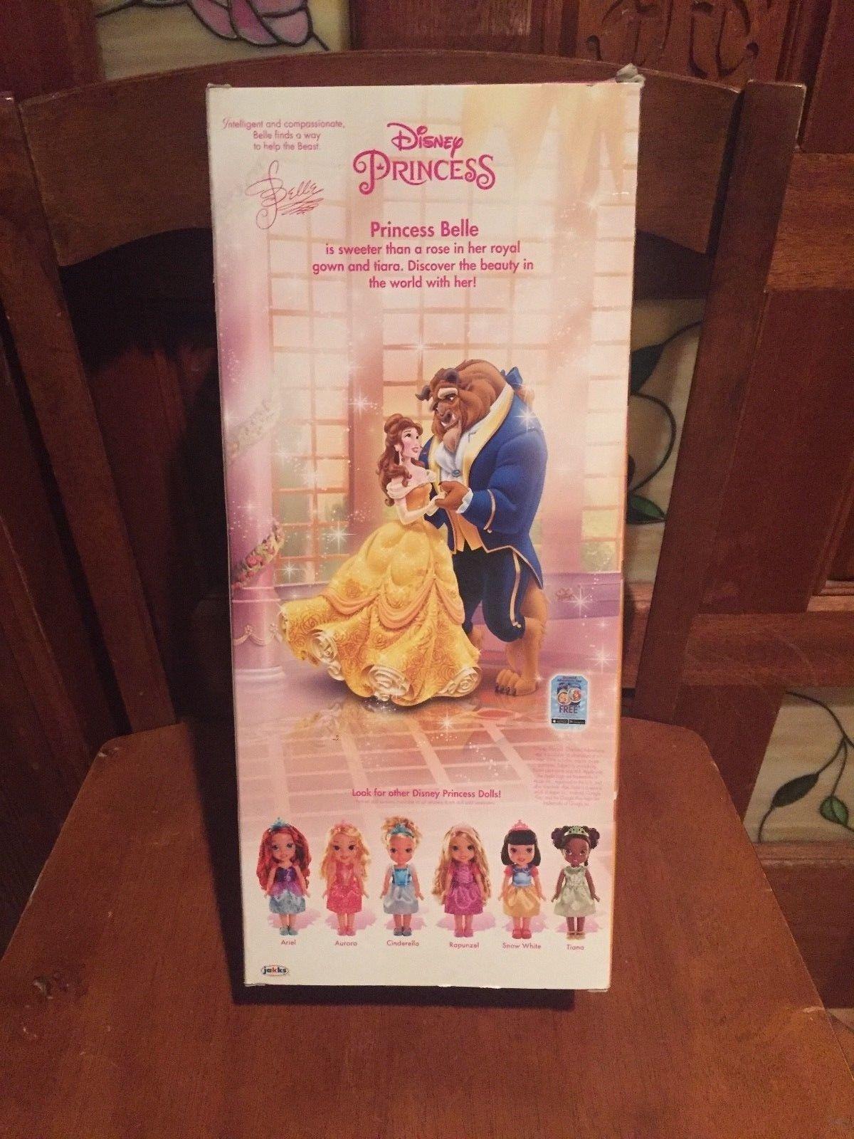 Toddler Belle  Disney Princess doll Jakks  Brand New!