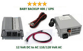 400 Watt 110/120V Battery Backup/UPS System - Get prepared today!  - €441,37 EUR