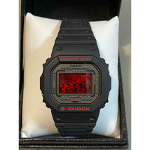Casio G-SHOCK DW-5000ML-1JF Red LCD 20th Anniversary 48.9x42.8mm boxed + manual - $740.82