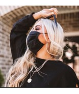 Black Cloth Washable Mask - $8.70