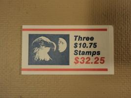 USPS Scott 2122 $10.75 Eagle Half Moon 1985 Book Of 3 Stamps Mint Booklet - $55.39