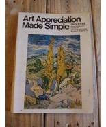 Art Appreciation Made Simple By John P. Sedgwick Jr. - $17.75