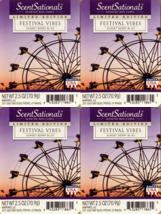 ScentSationals Festival Vibes Wax Cubes - 4-Pack - $24.45