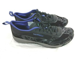 Merrell Connect Access Women's Running Shoes Sz 9.5 Black Gray Purple - $25.25