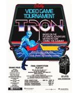 Tron 24 x 34 1981 Promotional Video Arcade Game Contest Poster - Sci-Fi ... - $45.00